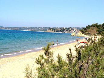 Loutsa beach 3 km far